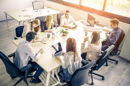 Beispiele von NewWork und Bürokonzepten